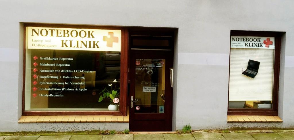 Notebook Reparatur Hamburg Ladenfront